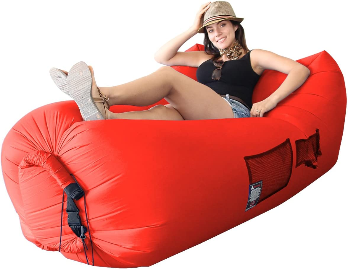 EasyGoProducts Woohoo 3.0 A surprise price is realized Sale item Giant Lounger Outdoor with Inflatable