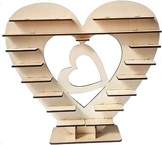 Soporte de madera para exhibir chocolates Ferrero Rocher en