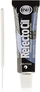 RefectoCil RefectoCil Eyelash & Eyebrow Tint Color, 2 Blue Black 0.5 oz