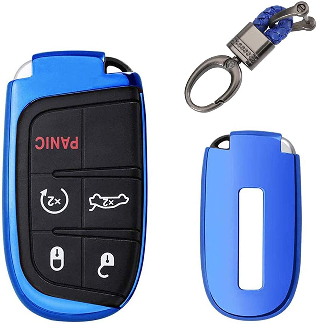 Soft TPU Key Fob Case Holder Chrysler Cover Large discharge sale Great interest Protector Glove for