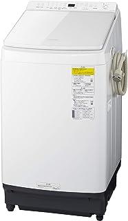 パナソニック 10.0kg 洗濯乾燥機 泡洗浄 液体洗剤・柔軟剤 自動投入 ホワイト NA-FW100K8-W
