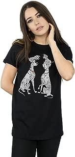 Women's 101 Dalmatians Classic Pongo and Perdita Boyfriend Fit T-Shirt