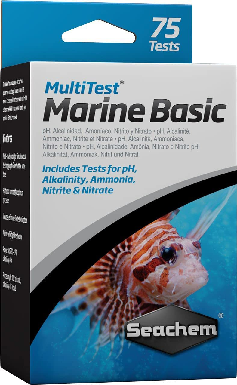 Seachem MultiTest Seattle New mail order Mall Marine Kit Test Basic