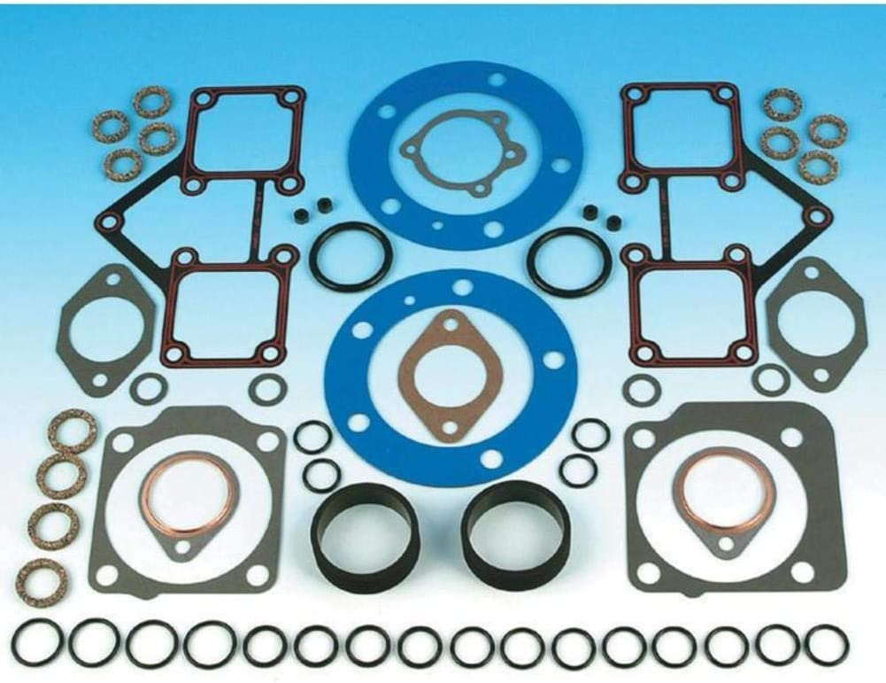 James Fresno Mall Gaskets Our shop OFFers the best service Complete Gasket Kit Davidson Harley for 1966-84 Sh