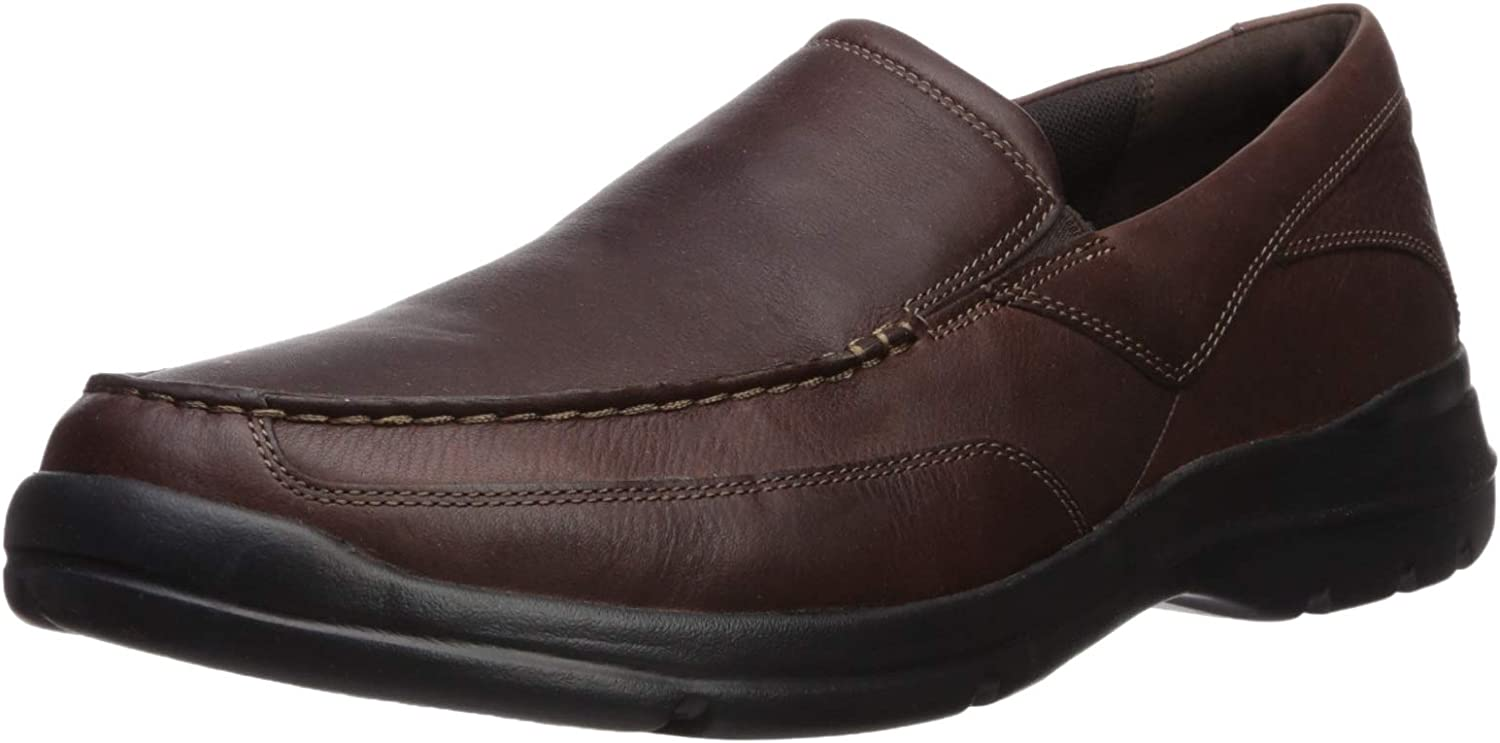 Rockport Hommes's City Play Two Slip On Oxford, marron, 11 M US