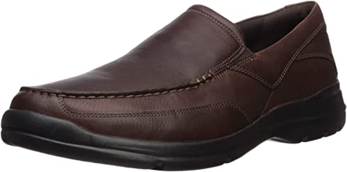 Rockport Hommes's City Play Two Slip on Oxford, marron, 7 W US