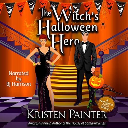 The Witch's Halloween Hero audiobook cover art