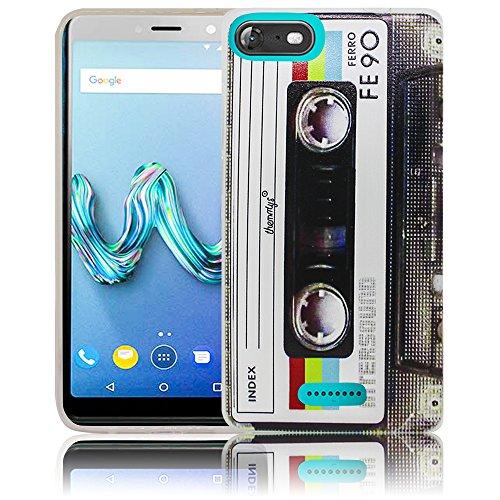 Wiko Tommy 3 Passend Kassette Retro Handy-Hülle Silikon - staubdicht, stoßfest und leicht - Smartphone-Case