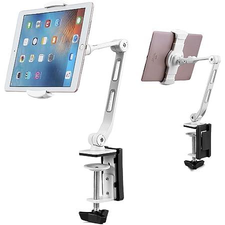 Suptek Aluminium Clamp Tablet Tischhalterung 360 Elektronik