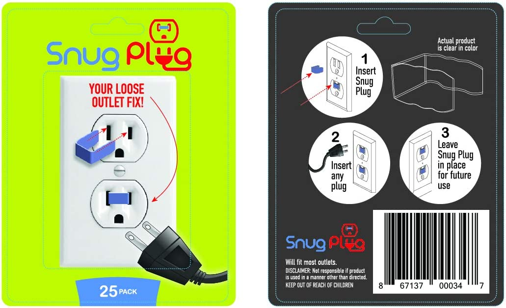 Snug Plug - Your We OFFer at cheap prices Loose Fix Pack Outlet Clear Ranking TOP8 25