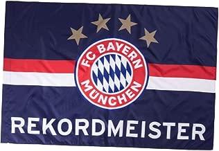 Flagge 150 x 100 cm FCB Plus Lesezeichen I Love M/ünchen FC Bayern Fahne Stripes