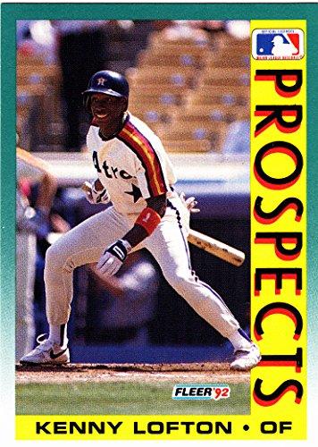 1992 FLEER KENNY LOFTON RC ROOKIE CARD
