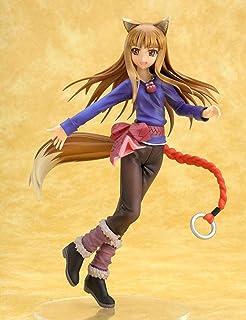LF-YGJ Estatua de Anime Anime Anime y Lobo Holo Kotobukiya Yusuke Masaki Sakurazenzen PVC Figura de acción de colección Mo...