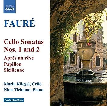 Faure: Cello Sonatas Nos. 1 and 2 / Elegie / Romance