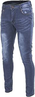 Men's Skinny Slim Fit Stretch Jeans Denim Ripped Pencil Pants
