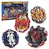 3T6B Bay Battling Tops with Stadium Burst Top Metal Fusion Battle Attack Pack