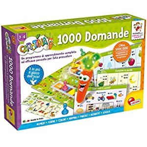 Lisciani Giochi LSI Carotina Penna Parl.1000 Domand 49363, Multicolore, 859143