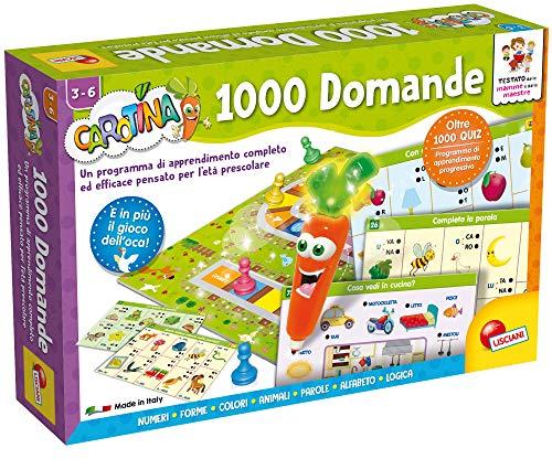 Lisciani Giochi LSI Carotina Penna Parl.1000 Domand 49363, Multicolore