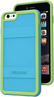 Pelican Cell Phone Case for Apple iPhone 6/6s Plus - Retail Packaging - Teal/Lime Green