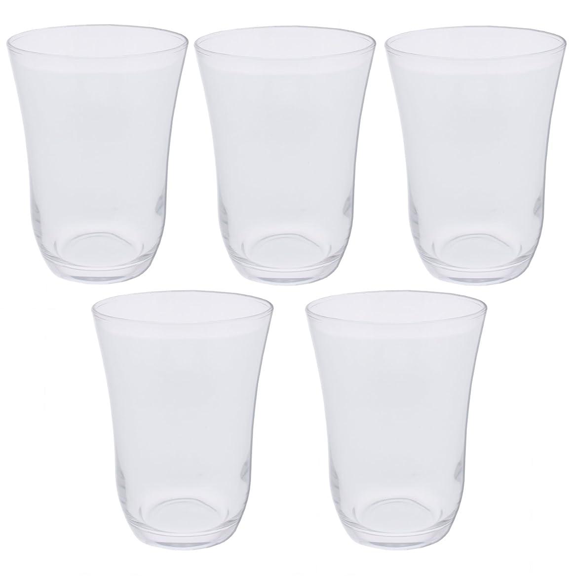 スプリット進化液体東洋佐々木ガラス タンブラー クリア 300ml 食洗機対応 MZ2041 5個セット