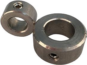 10 stuks stelringen voor as D = 4 tot D = 30 met schroefdraadpen DIN 705 roestvrij staal A2 Houderringen. Innen-Ø = 16 mm