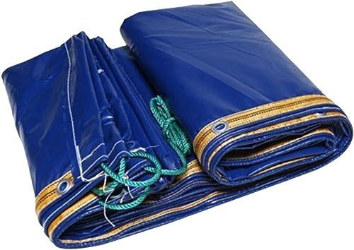 WJQSD Tente bache Bache Bleue MultiCouleure 0.35mm-420g   m2 d'ombre de Camion de Tissu de bache imperméable très Pratique Extérieur, Camping, Piscine, Jardinage (Taille   2  3m)