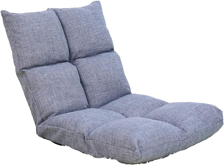 Folding Chair- Lounger Sofa, Single Dormitory Folding Sofa, Sofa Bed Chair Computer Back (color   B)