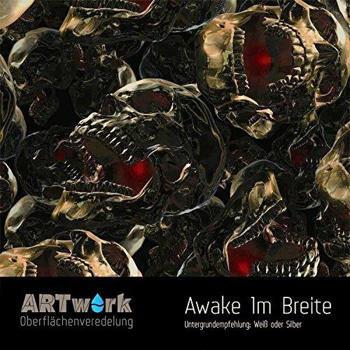 Wassertransferdruck Folie ARTwork Awake 1m Breite