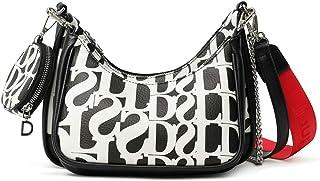 Desigual Womens PU Shoulder Bag, Black, U
