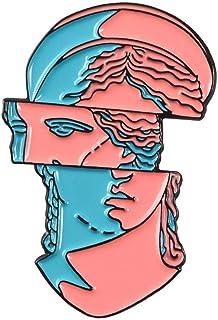 Aisoway Incredibile Arte dello Smalto Spilla segmentazione Modeling Cartone Animato Spilla Jewelry Badge Coat