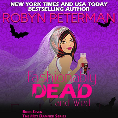 Fashionably Dead and Wed audiobook cover art