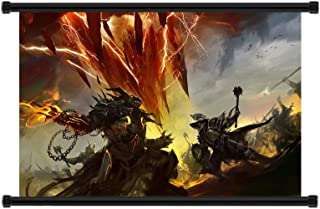 Studio C Guild Wars Game Fabric Wall Scroll Poster (32