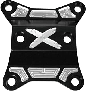 for 17-19 CAN-AM MAVX3XDS 64in Modquad Hex Radius Rods Black//Machined