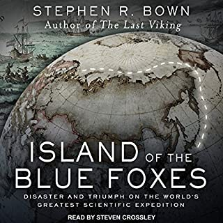Island of the Blue Foxes audiobook cover art