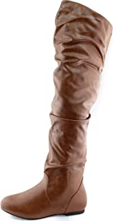 Best tan knee high slouch boots Reviews