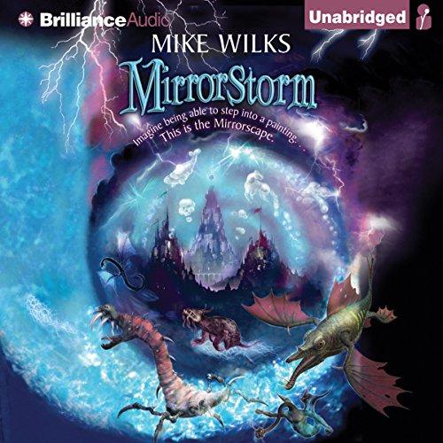 Mirrorstorm audiobook cover art