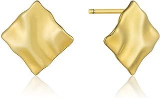 Crush Mini Square Stud Earrings