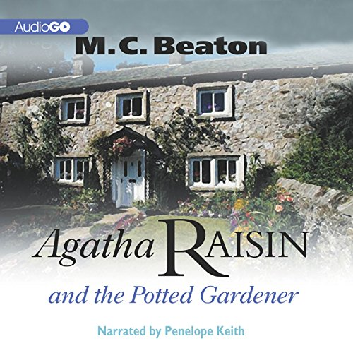 Agatha Raisin and the Potted Gardener audiobook cover art