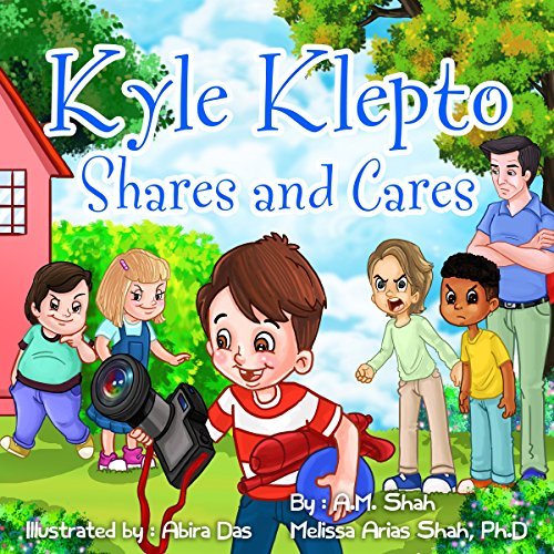 Kyle Klepto Shares and Cares audiobook cover art