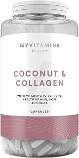 UK NO.1 Coconut & Collagen Capsules - 0ne month (60 Capsules)