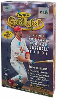 1998 topps gold label baseball