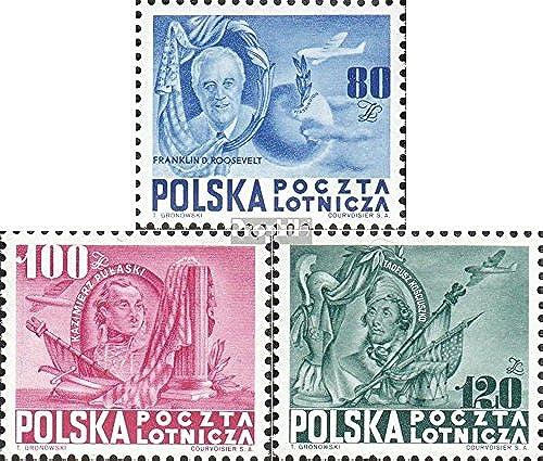 Prophila Collection pÃlen A515-A517 (kompl.Ausg.) 1948 USA (Briefmarken für Sammler)