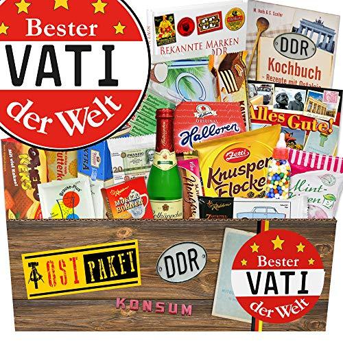 Bester Vater / Süßigkeiten Box DDR / mit Buch / Geschenk Vati