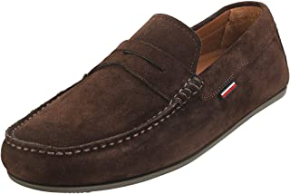 Tommy Hilfiger Classic Suede Penny Loafer, Mocassins Homme