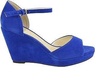 Tamaris 1-1-27400-22 Femme Sandale /à lani/ères,Sandales,Sandales /à lani/ères,Chaussures d/ét/é,Confortable,Plat,Touch-IT