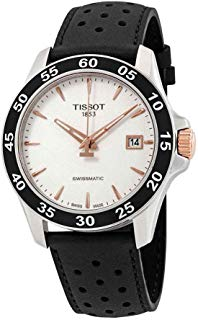 Tissot Men's V8 Swissmatic - T1064072603100 Silver/Black One Size