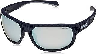 Polaroid Pld7022/s Gafas deportivas para Hombre, Blue, 63 mm