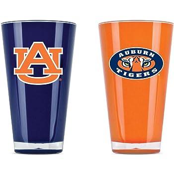 NCAA Auburn Tigers 16oz Insulated Acrylic Square Tumbler