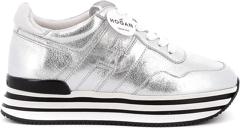 Hogan Sneakers Midi H222 HXW4830CB81N1VB200 Argento Donna 35 ...