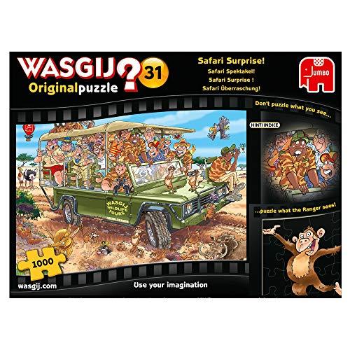 Jumbo Spiele GmbH B07MFBLFRT Wasgij Original 31: Safari Überraschung (1000 Teile)